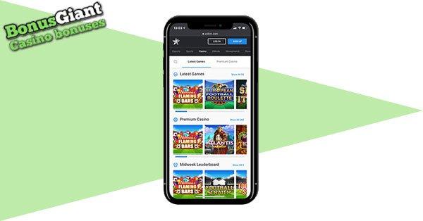 Unikrn Casino mobile