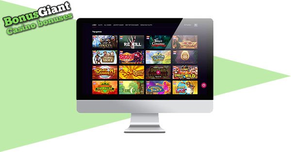 Kosmonaut Casino Desktop