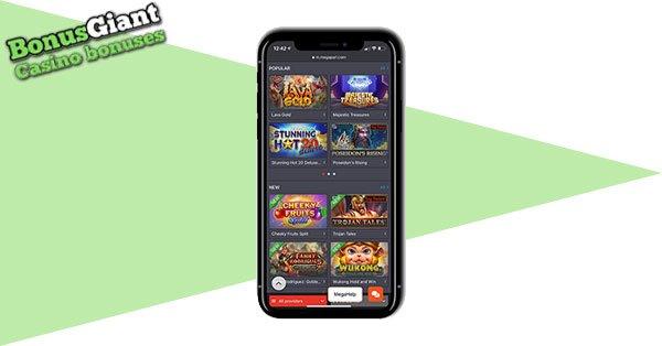 Megapari Mobile casino
