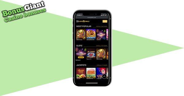 Lucky Thrillz Mobile Casino