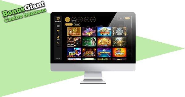 Vegasoo Casino Desktop