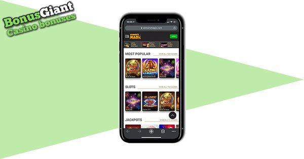 Winner's Magic Mobile Casino