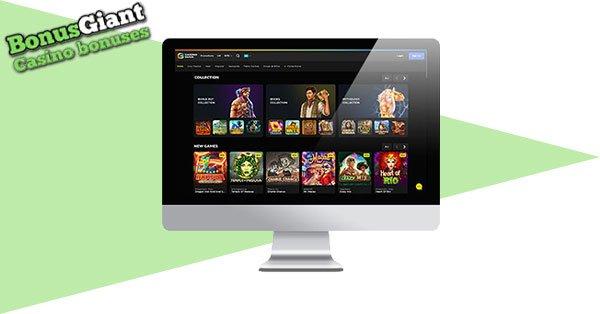 CasinoBuck desktop