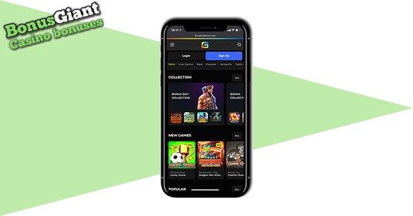 CasinoBuck Mobile