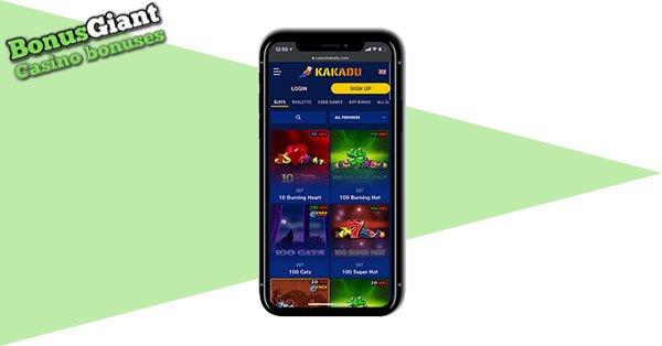 Kakadu Casino Mobile